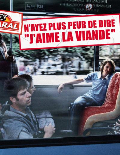 CHARAL / AFFICHAGE ET FILM TV