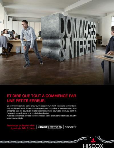 HISCOX / PRESSE ET FILM TV
