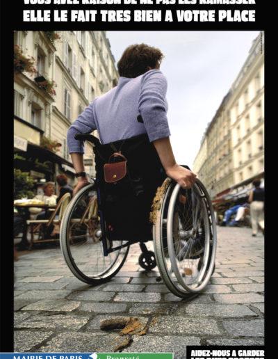 MAIRIE DE PARIS / AFFICHAGE ET FILM TV