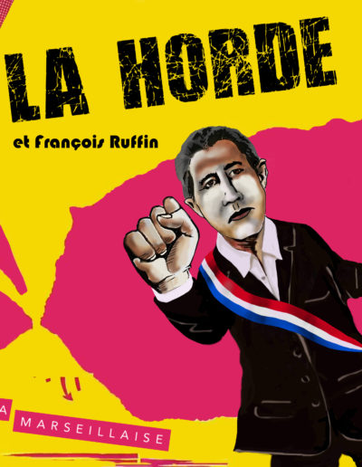 LA HORDE & FRANCOIS RUFFIN / POCHETTE